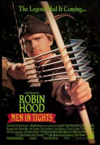 Robin Hood Men in Tights poster