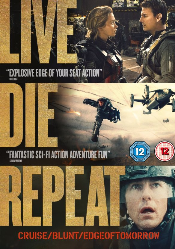 Live Die Repeat DVD