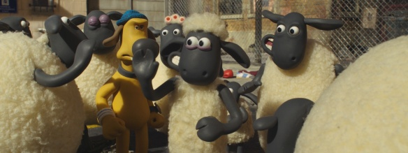 Shaun the Sheep Movie flock